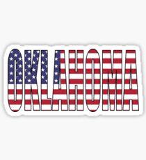Oklahoma. Sticker