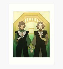 Beifong Sisters Art Print