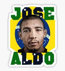 Jose Aldo Brazilian Beast Sticker