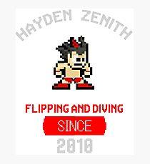 Hayden Zenith - ZBOY Photographic Print