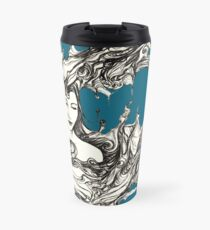Dreams are only a closed eyelid away Travel Mug