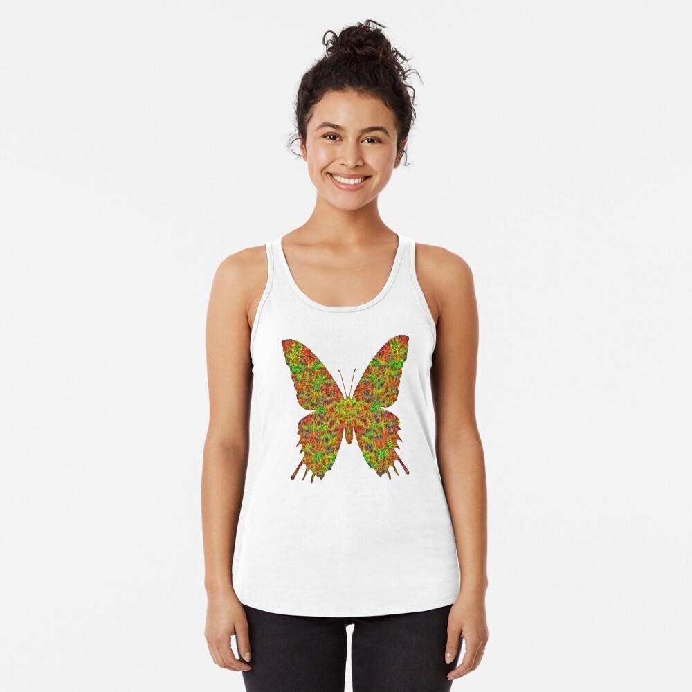 Butterfly Racerback Tank Top