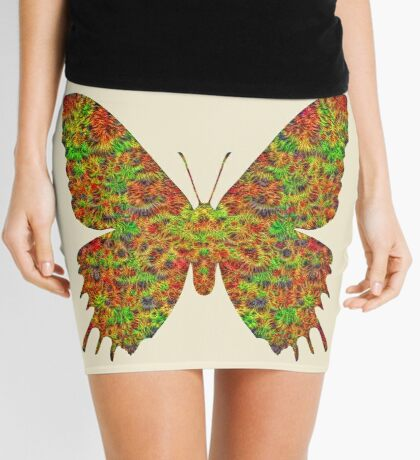 Butterfly Mini Skirt