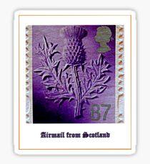 Airmail from Bonnie Scotland Sticker