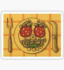 Countryside appetizer placemat Sticker