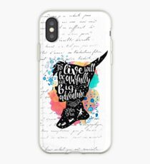 Peter Pan - To Live iPhone Case