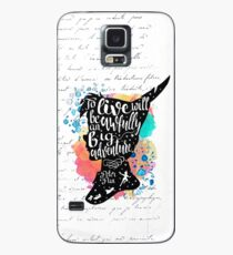 Peter Pan - To Live Case/Skin for Samsung Galaxy