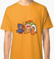 Geno and Bowser Arguing Classic T-Shirt