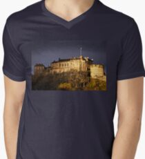 Edinburgh Castle Men's V-Neck T-Shirt