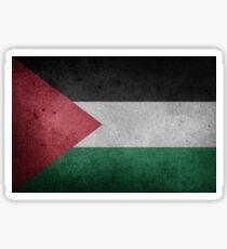 Palestine Flag Grunge Sticker