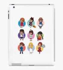 Cute Little Girls - Ghibli  iPad Case/Skin
