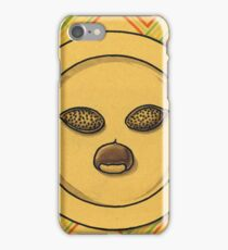 Facing almonds and chestnut iPhone Case/Skin