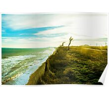 Awesome landscape of seashore Poster