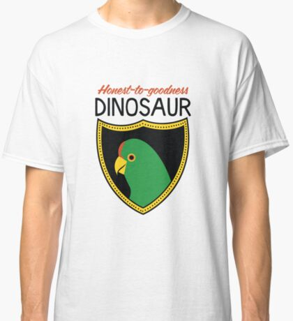 Honest-To-Goodness Dinosaur: Parakeet (on light background) Classic T-Shirt