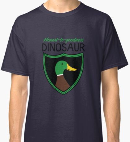 Honest-To-Goodness Dinosaur: Duck (on light background) Classic T-Shirt