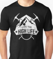 Mountain Climbing Logo T Shirt T-Shirt