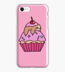 Cupcake Sloth iPhone Case/Skin