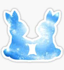 Galaxy Bunnies Sticker