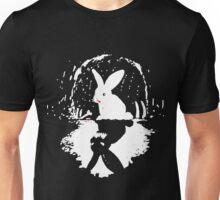 Crazy rabbit! Unisex T-Shirt