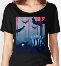 Blue Stone Landscape Women's Relaxed Fit T-Shirt