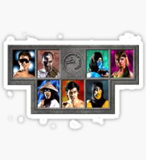 Mortal Kombat Character Select Sticker
