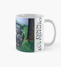 Old Car with Robins, by artist Lynn Garwood Mug