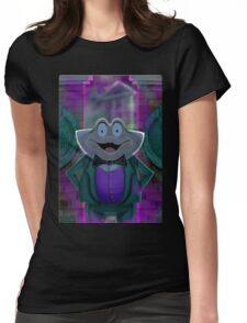 Mr Toad's New Job by Topher Adam Womens Fitted T-Shirt