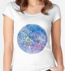 Neuron - Watercolor Women's Fitted Scoop T-Shirt