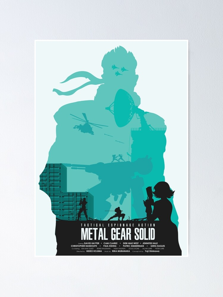 Alternate view of MGS Minimalist Poster