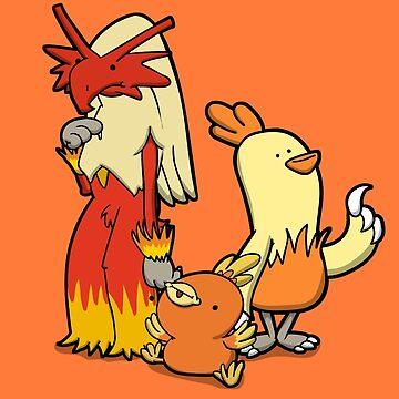 Blazing Chickens by Aniforce