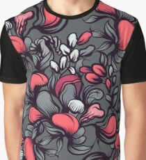 Floral composition with wild berries. Graphic T-Shirt