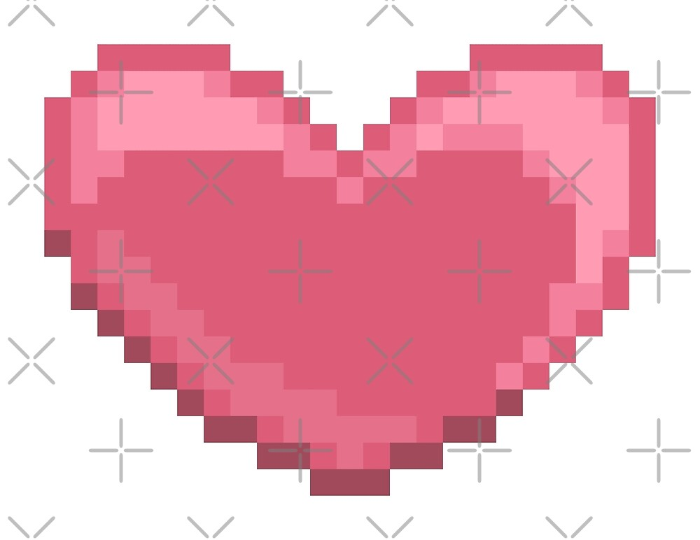 Pixel Heart by wingednaomi