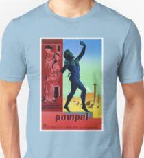 Pompeii Pompei Vintage Italian travel advert T-Shirt