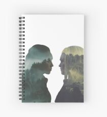 Clexa - The 100 - Forest Front Spiral Notebook