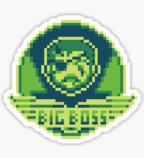 Bigger Boss Sticker