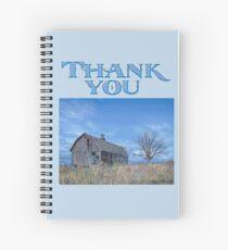 """Gratitude Journal-""""Deadwood"""" Spiral Notebook"""