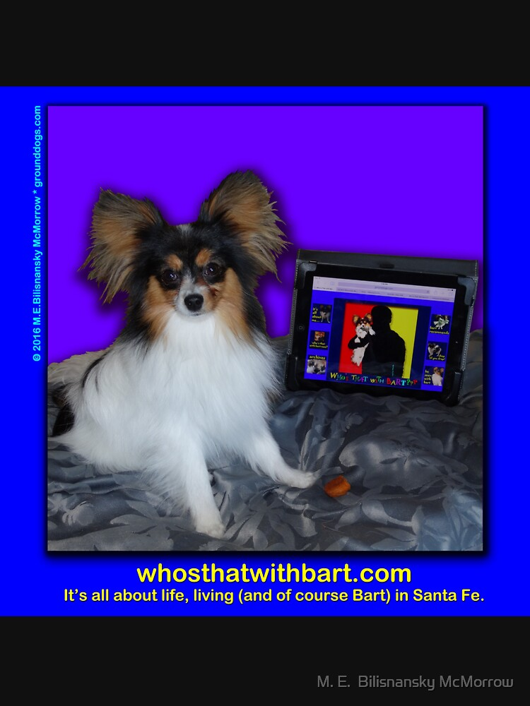Who's That with Bart? A Papillon with Attitude! by grounddogs