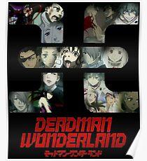 Deadman wonderland posters redbubble deadman wonderland poster voltagebd Gallery