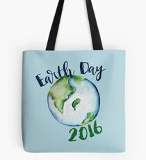 Earth Day 2016 Tote Bag