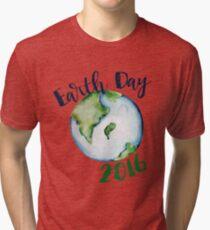 Earth Day 2016 Tri-blend T-Shirt