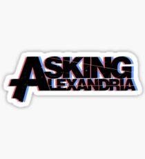 Asking Alexandria Sticker