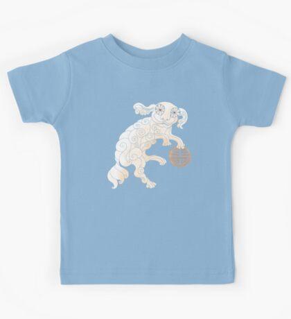 Long Life White Cloud Foo Dog Kids Clothes