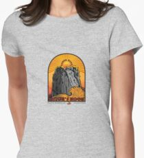 WITCH'S ROCK COSTA RICA Womens Fitted T-Shirt