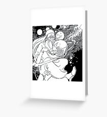 The Man Of The Moons Greeting Card