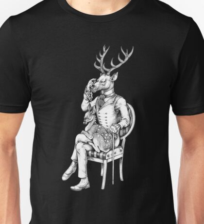 Deer and Fawn Unisex T-Shirt