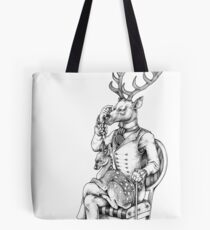 Deer and Fawn Tote Bag