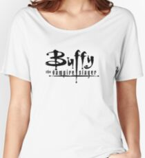 Buffy the Vampire Slayer chest level logo Women's Relaxed Fit T-Shirt