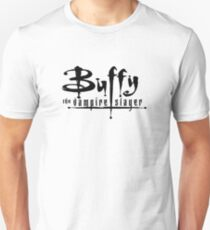 Buffy the Vampire Slayer chest level logo T-Shirt