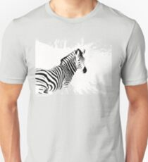 zebra love Unisex T-Shirt