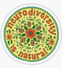 Neurodiversity Mandala  Sticker